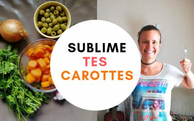 Recette : la salade de carottes à la marocaine